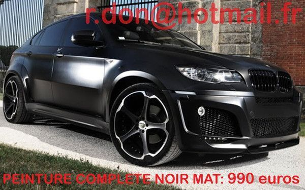 bmw x6 bmw x6 bmw x6 covering noir mat. Black Bedroom Furniture Sets. Home Design Ideas