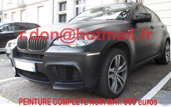 bmw x6 bmw x6 bmw x6 covering noir mat bmw x6. Black Bedroom Furniture Sets. Home Design Ideas