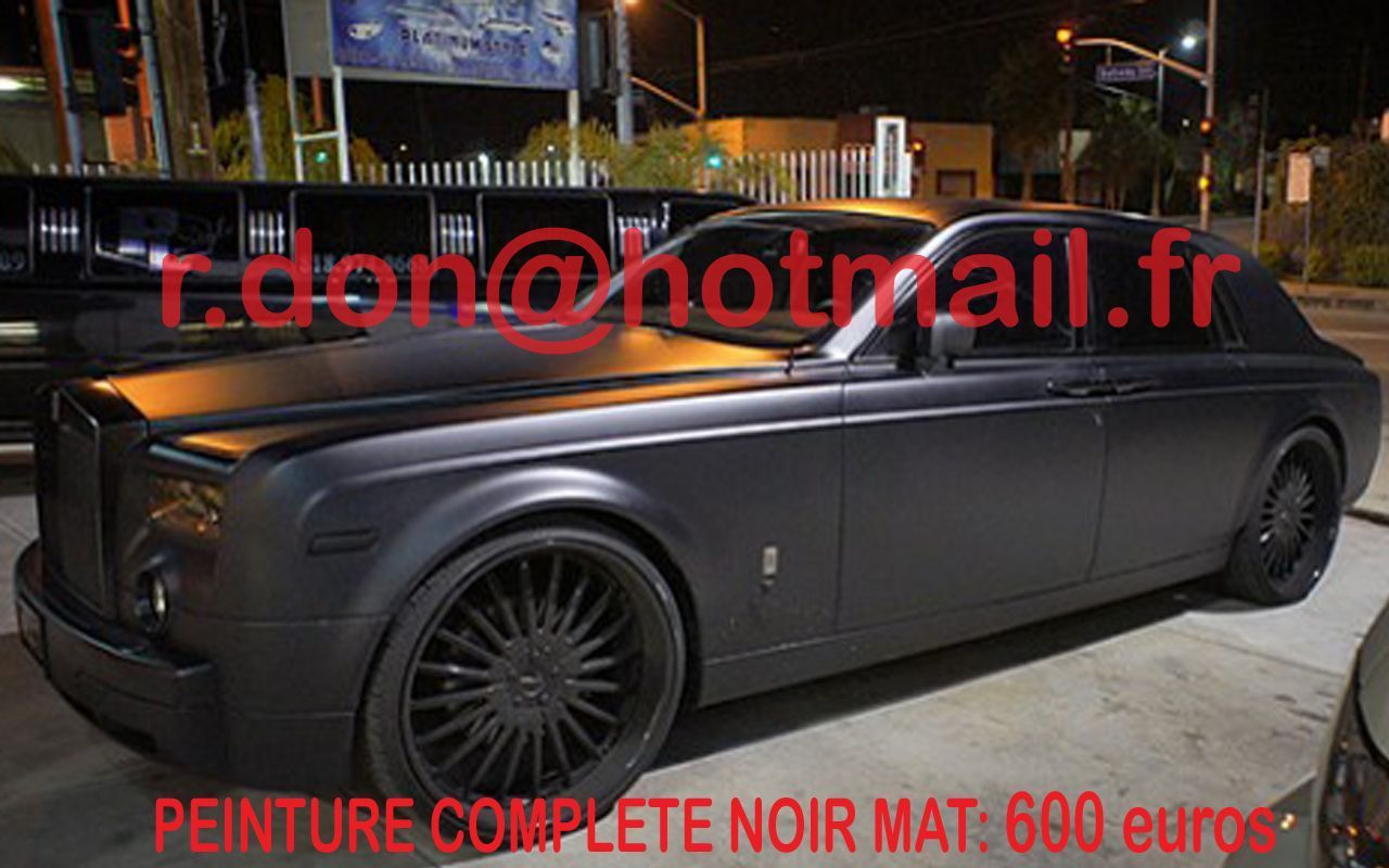 rolls royce phantom covering voiture luxe covering. Black Bedroom Furniture Sets. Home Design Ideas