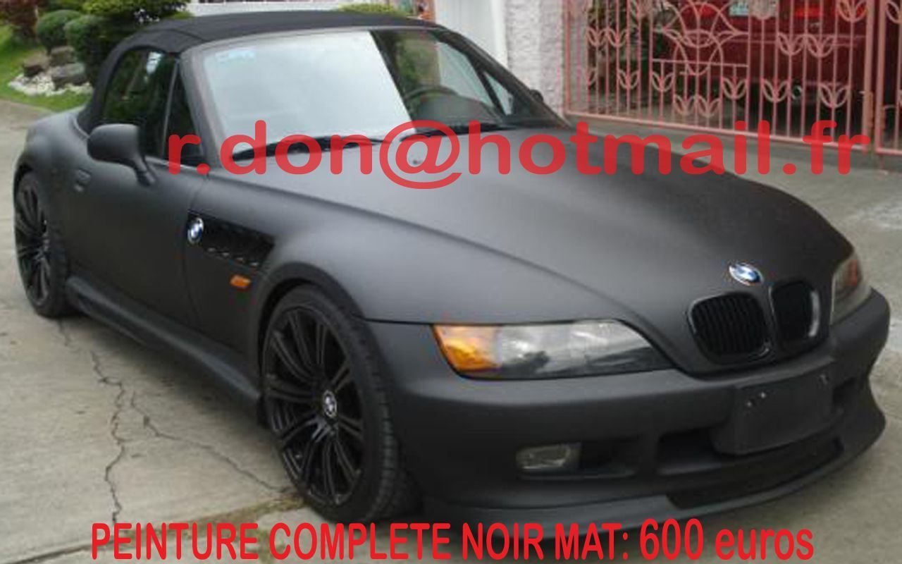 bmw z3 bmw z3 bmw z3 total covering noir mat. Black Bedroom Furniture Sets. Home Design Ideas