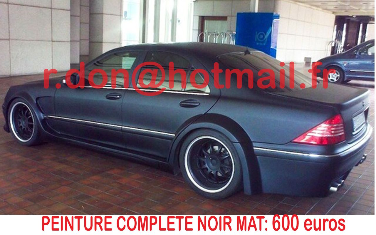 Mercedes Cl Covering Voiture Mat