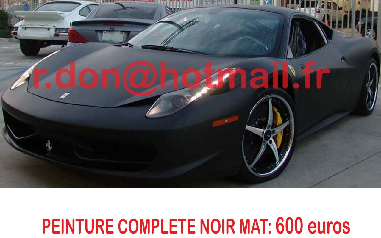 ferrari 458 italia autocollant voiture personnalisation. Black Bedroom Furniture Sets. Home Design Ideas