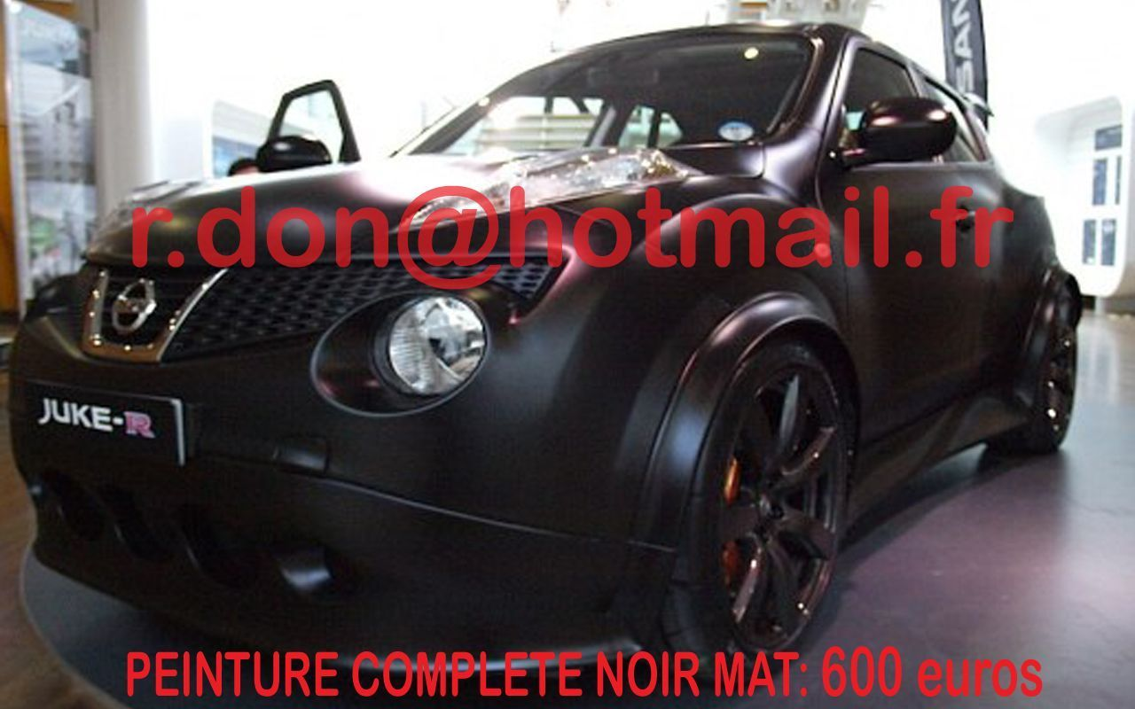 nissan juke covering noir mat. Black Bedroom Furniture Sets. Home Design Ideas